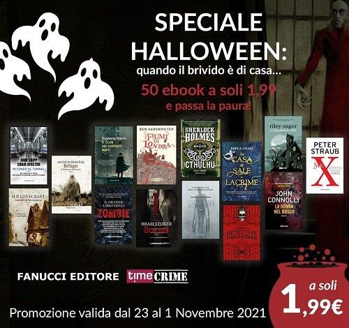 Sconti Fanucci Editore e Time Crime di Halloween