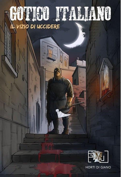 Gotico Italiano - Copertina del primo numero il vizio di uccidere