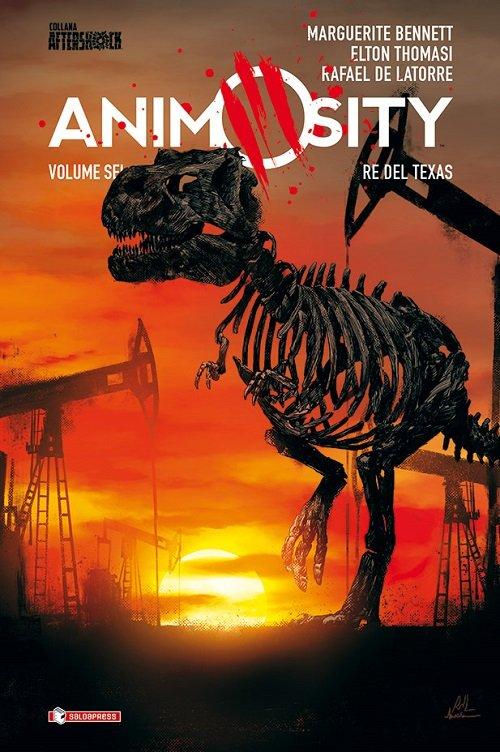 animosity re del texas - cover copertina morbida