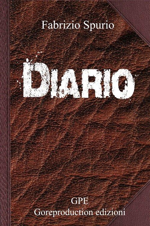 Diario di Fabrizio Spurio - La cover