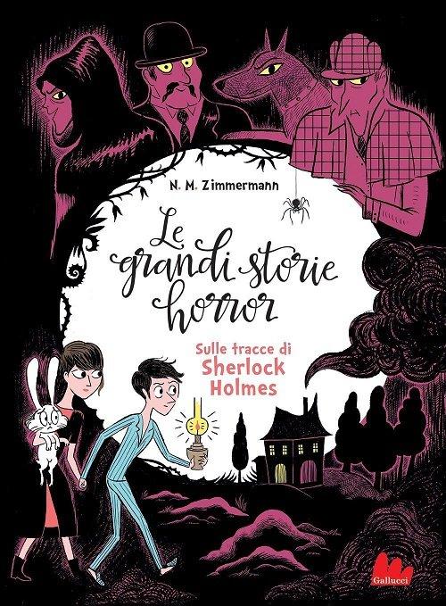 sulle tracce di Sherlock Holmes - la cover