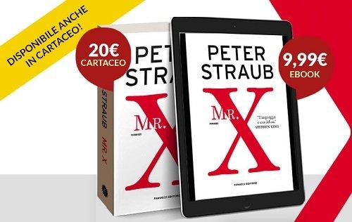 Mr X di Peter Straub - RECENSIONE
