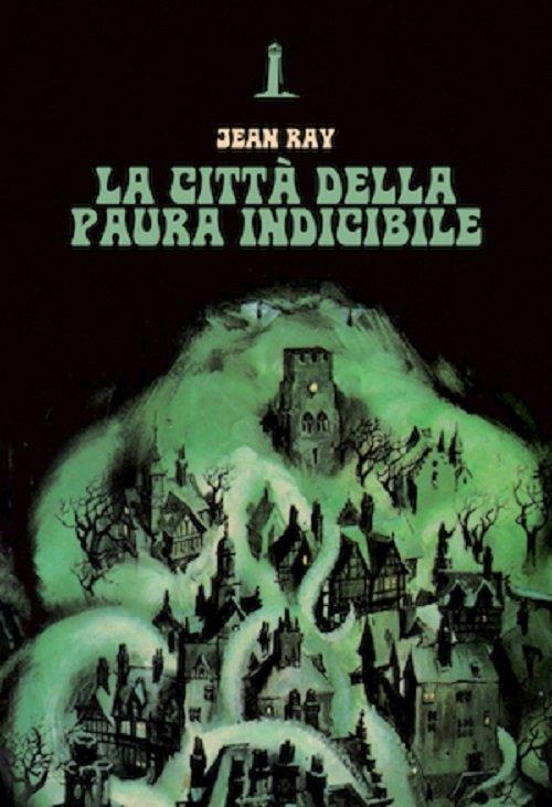 La città della paura indicibile di Jean Ray - Copertina