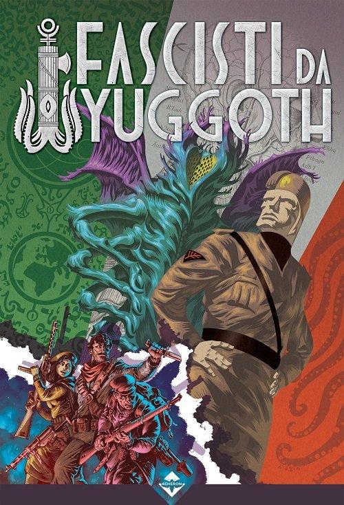 Fascisti da Yuggoth della Acheron Books - Copertina