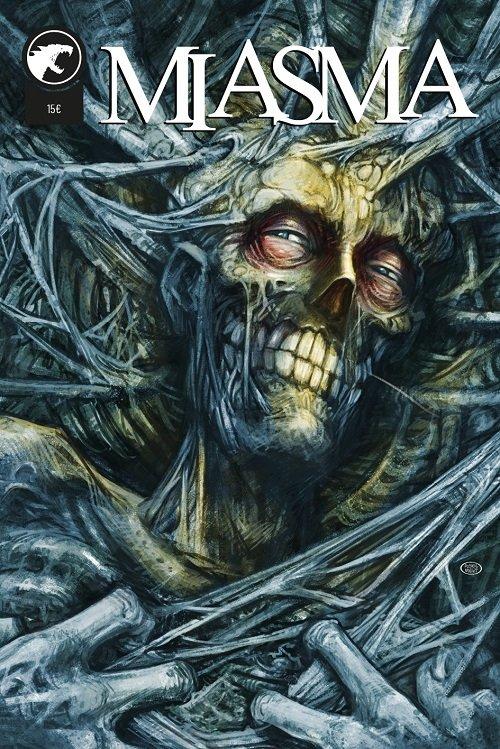 Miasma di Massimo Rosi - antologia horror a fumetti cover