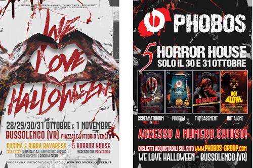 We Love Halloween - Horror House Transilvania Beer Fest Bussolengo (VR)